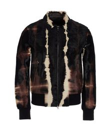 Manteau en cuir - NEIL BARRETT