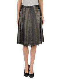 VALENTINO - Leather skirt