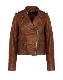 Leather outerwear - GOLDEN GOOSE