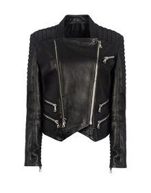 Leather outerwear - BALMAIN