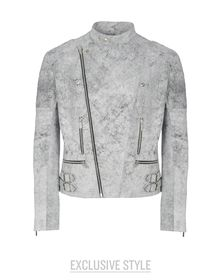 Manteau en cuir - CHRISTOPHER KANE