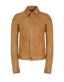 Leather outerwear - RICK OWENS