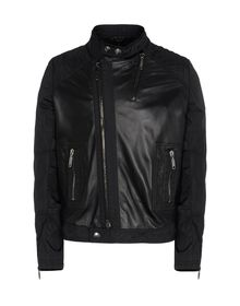 Leather outerwear - LES HOMMES