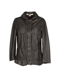 HACHE - Leather outerwear