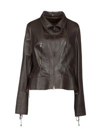 BOSS BLACK - Leather outerwear