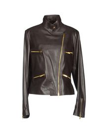 BLUMARINE - Leather outerwear