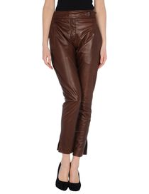 ERMANNO SCERVINO - Leather trousers