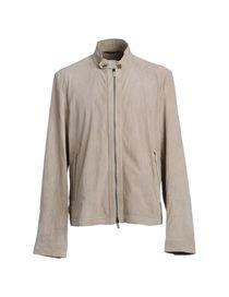 ERMENEGILDO ZEGNA - Leather outerwear