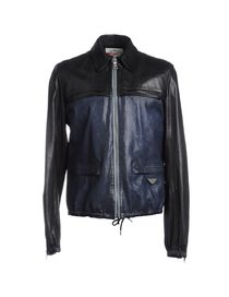 PRADA SPORT Leather outerwear