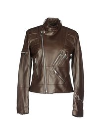 RALPH LAUREN BLACK LABEL - Leather outerwear