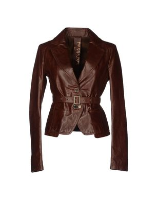 PATRIZIA PEPE - Leather outerwear
