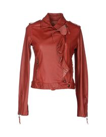 TWIN-SET Simona Barbieri - Leather outerwear