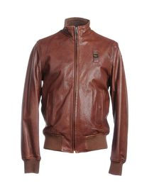 BLAUER - Leather outerwear