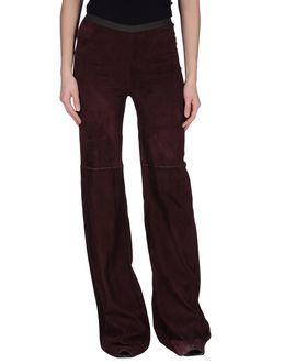Pantalones de piel - MAURIZIO PECORARO EUR 385.00