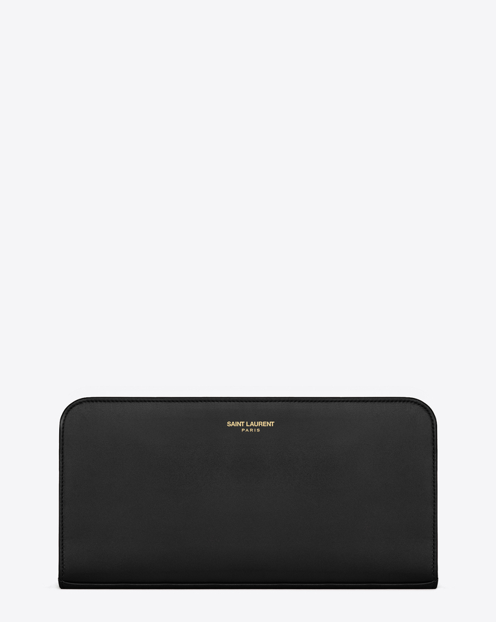 y sl - Saint Laurent Classic Saint Laurent PARIS Zip Around Wallet In ...