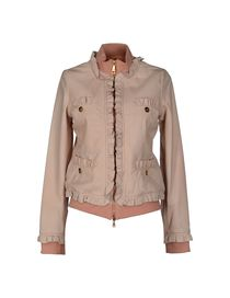 LOVE MOSCHINO - Leather outerwear