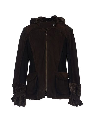 Image of COMPAGNIA LEATHERWEAR Leather outerwear Women on YOOX.COM