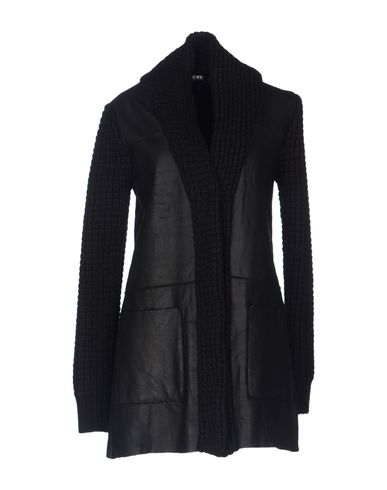 Image of C'N'C' COSTUME NATIONAL LEATHERWEAR Leather outerwear Women on YOOX.COM