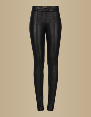 TRUSSARDI - Leather pants