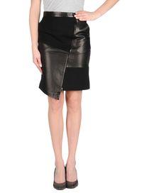 TIBI - Leather skirt