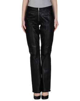 Pantalones de piel - MOSCHINO JEANS EUR 295.00