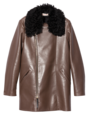MARNI - Leather Coat