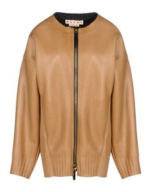 Leather outerwear - MARNI