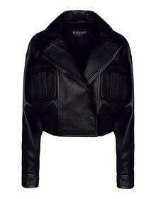 Leather outerwear - BALMAIN