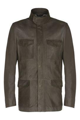 Designer leather Jackets for men Armani Collezioni - Armani.com