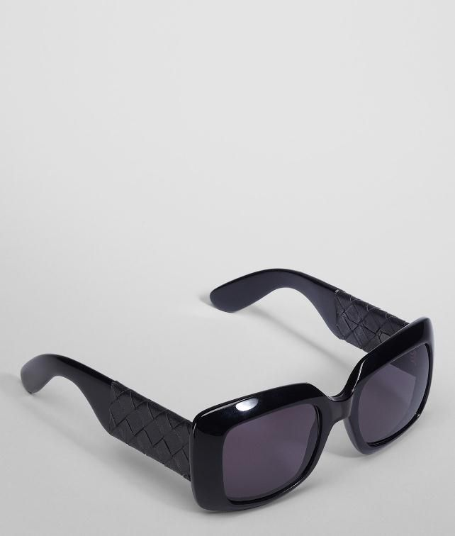 Nero Acetate Leather Eyewear BV 1000/FS