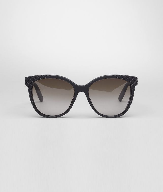 Rubber Black Brown Shaded Eyewear BV 247