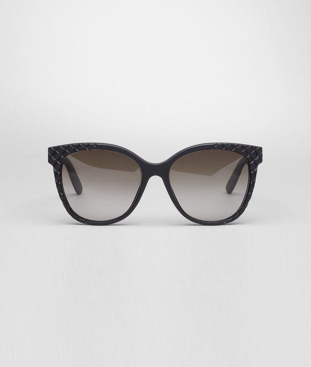 BOTTEGA VENETA Rubber Black Brown Shaded Eyewear BV 247 Sunglasses D fp