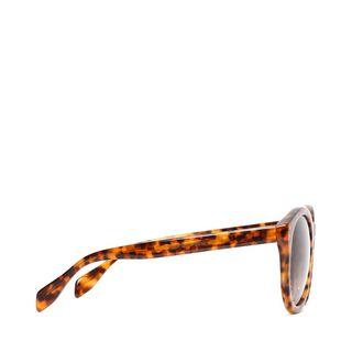 ALEXANDER MCQUEEN, Sunglasses, Spine Skull Round Sunglasses