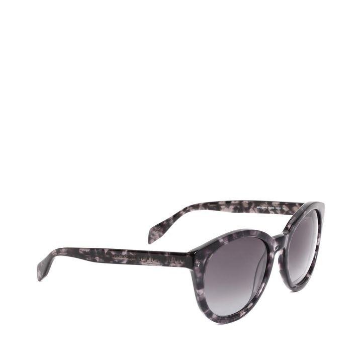 Alexander McQueen, Spine Skull Round Sunglasses