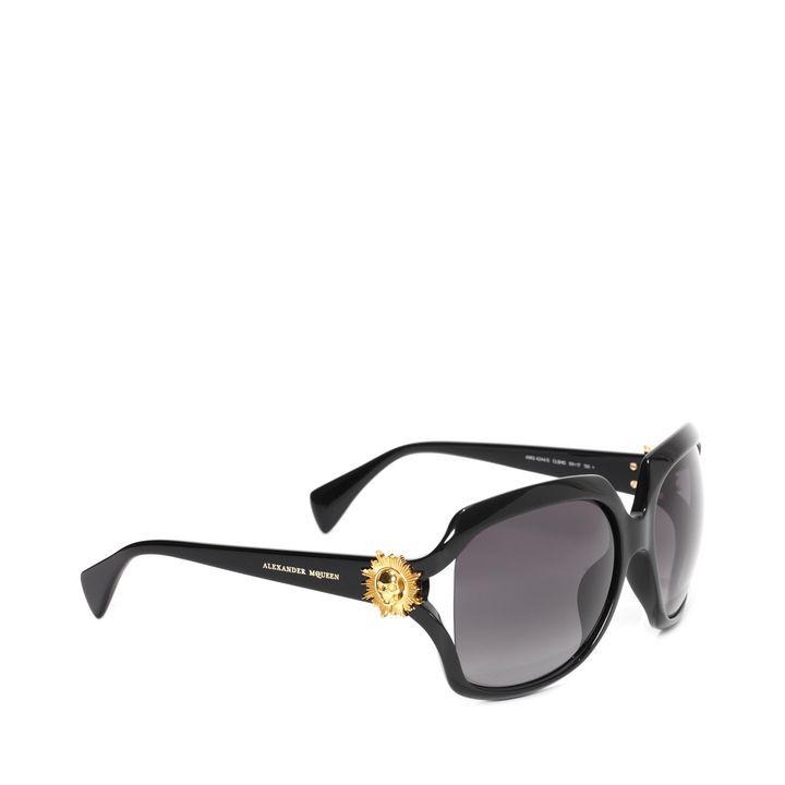 Alexander McQueen, Sun Skull Squared Sunglasses