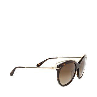 ALEXANDER MCQUEEN, Sunglasses, BONE HINGE SUNGLASSES