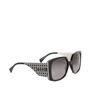 ALEXANDER MCQUEEN, Sunglasses, PERFORATED THIN METAL SUNGLASSES