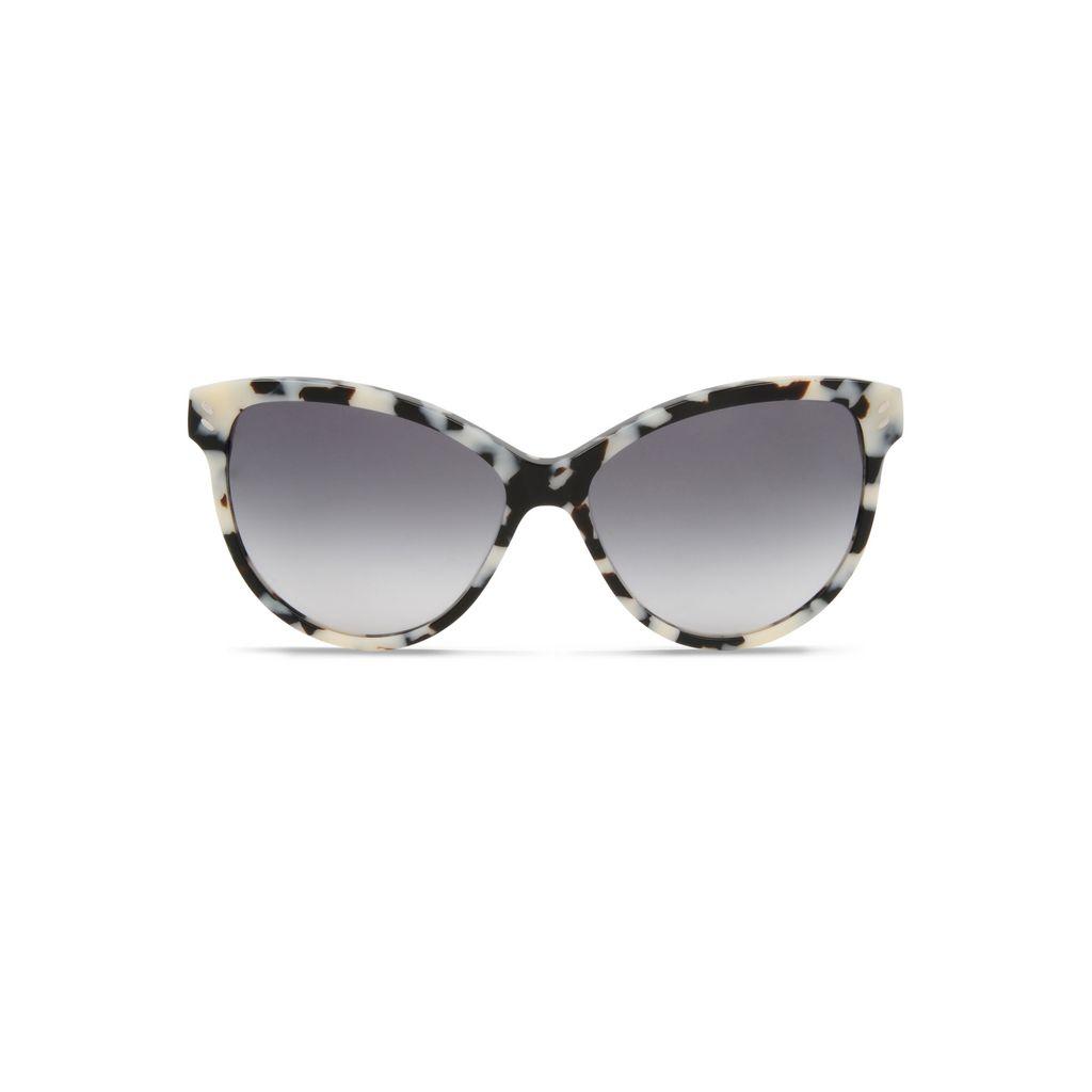 White Havana Cat Eye Sunglasses