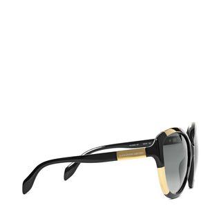 ALEXANDER MCQUEEN, Sunglasses, METAL BLOCKS SQUARED FRAME
