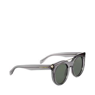 ALEXANDER MCQUEEN, Sunglasses, PIERCING BAR  ROUND FRAME