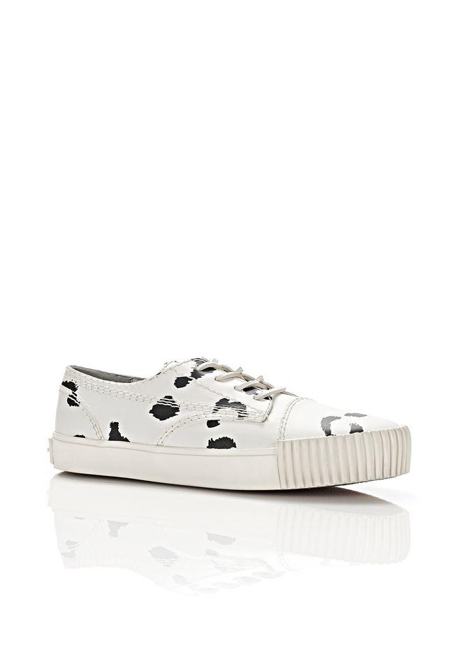 ALEXANDER WANG Sneakers  PERRY LOW LEOPARD SNEAKERS