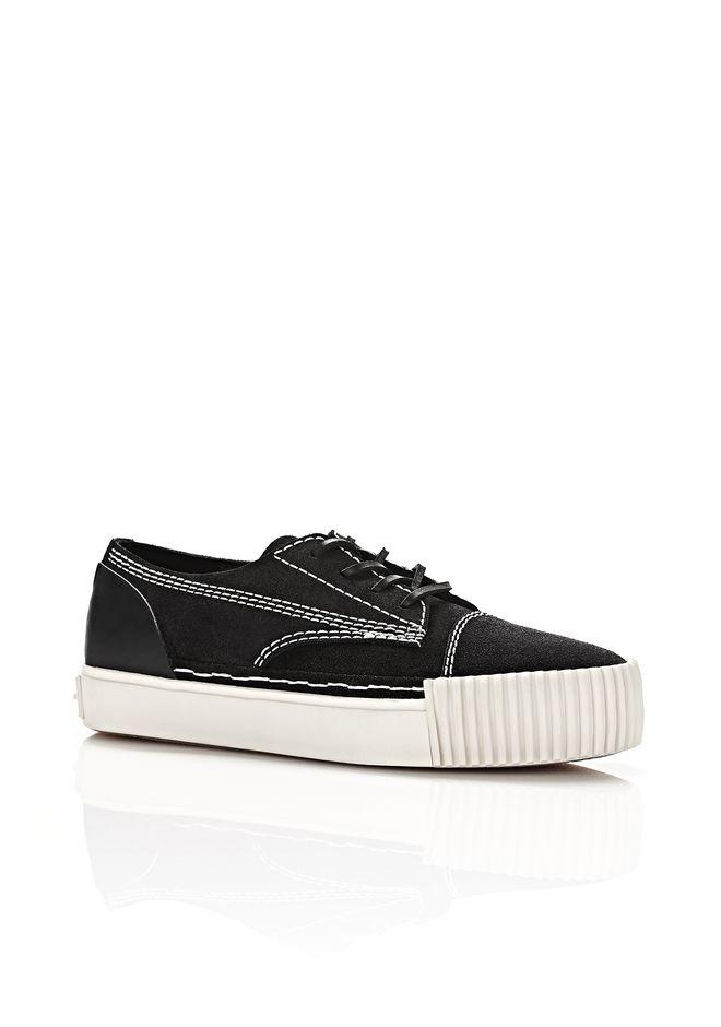 ALEXANDER WANG Sneakers PERRY LOW SUEDE SNEAKERS