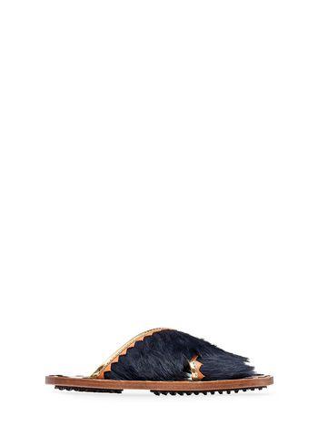 Marni Fur mule sandal Woman