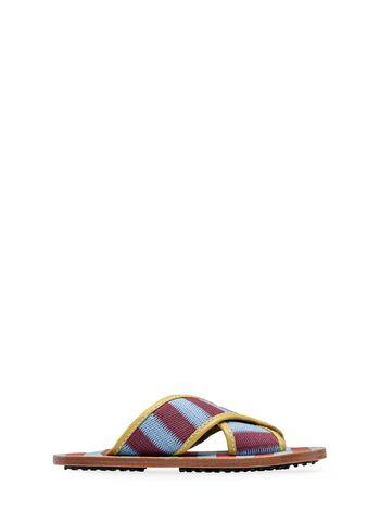 Marni Mule sandal in intertwined cotton Woman