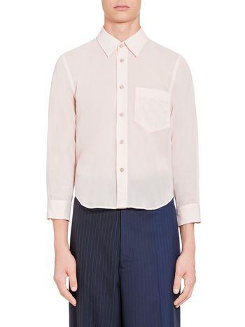 Marni 3/4 sleeved shirt in cotton Man