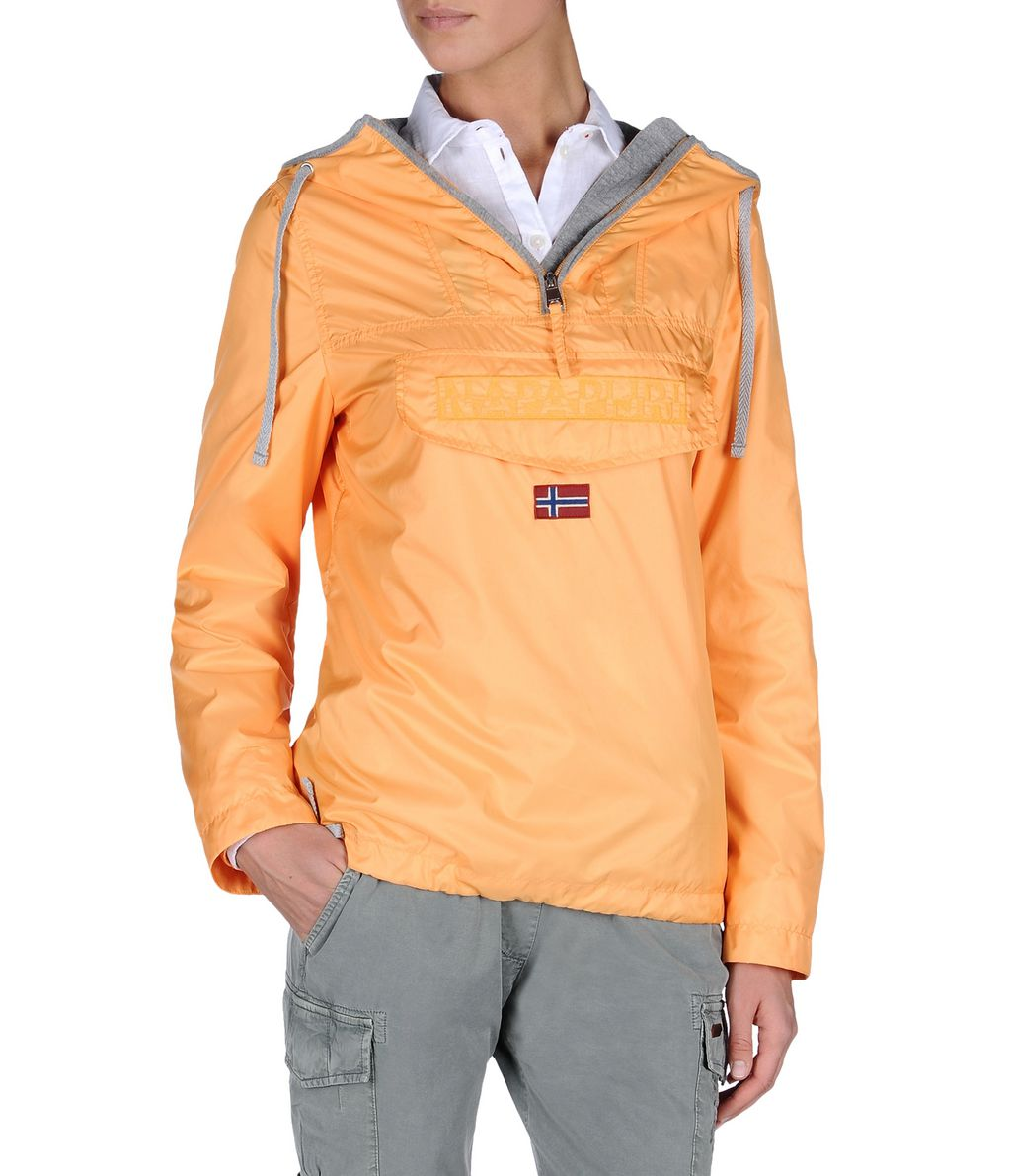 NAPAPIJRI RAINFOREST WOMAN LIGHT WOMAN RAINFOREST,ORANGE
