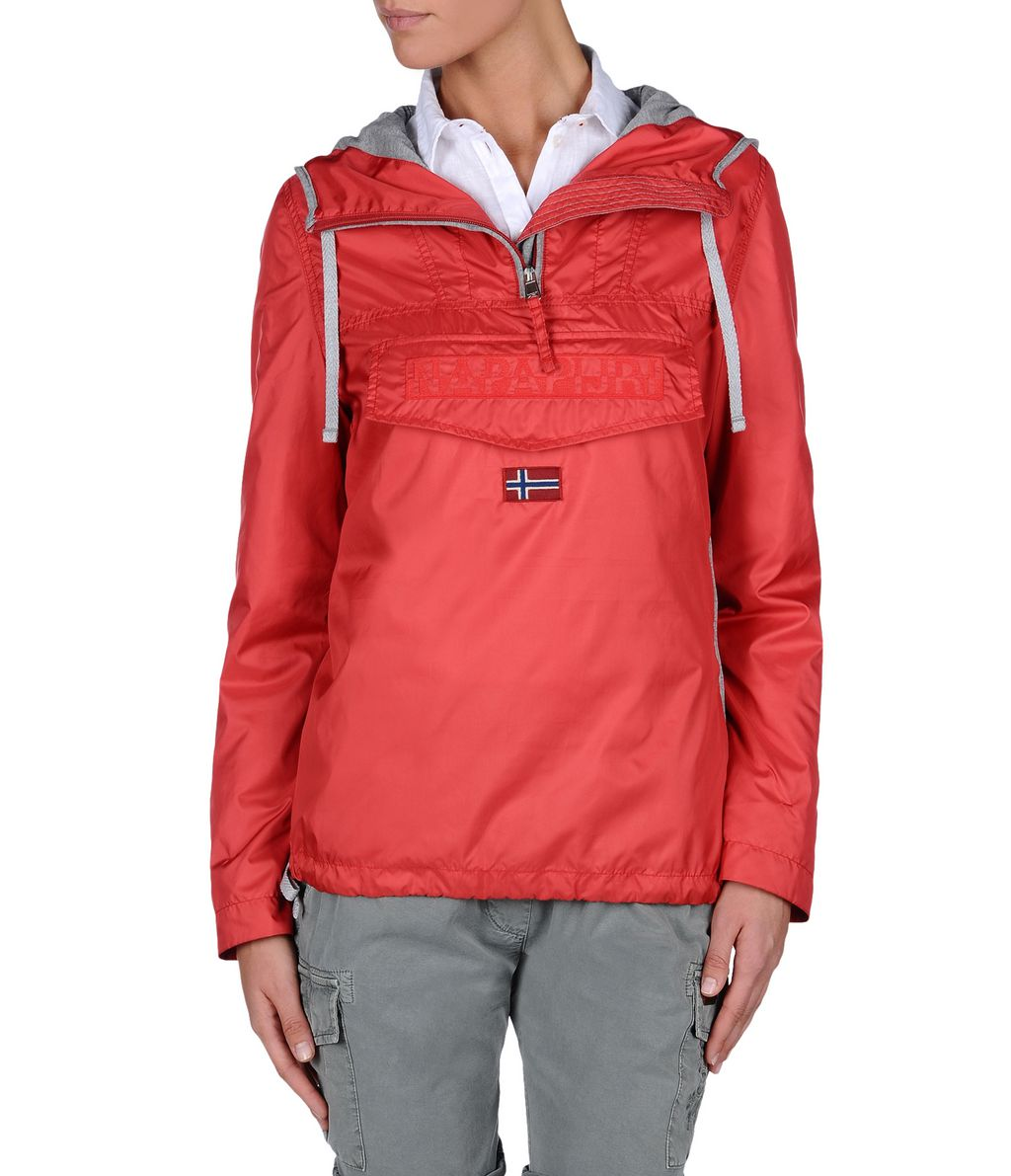 NAPAPIJRI RAINFOREST WOMAN LIGHT WOMAN RAINFOREST,RED