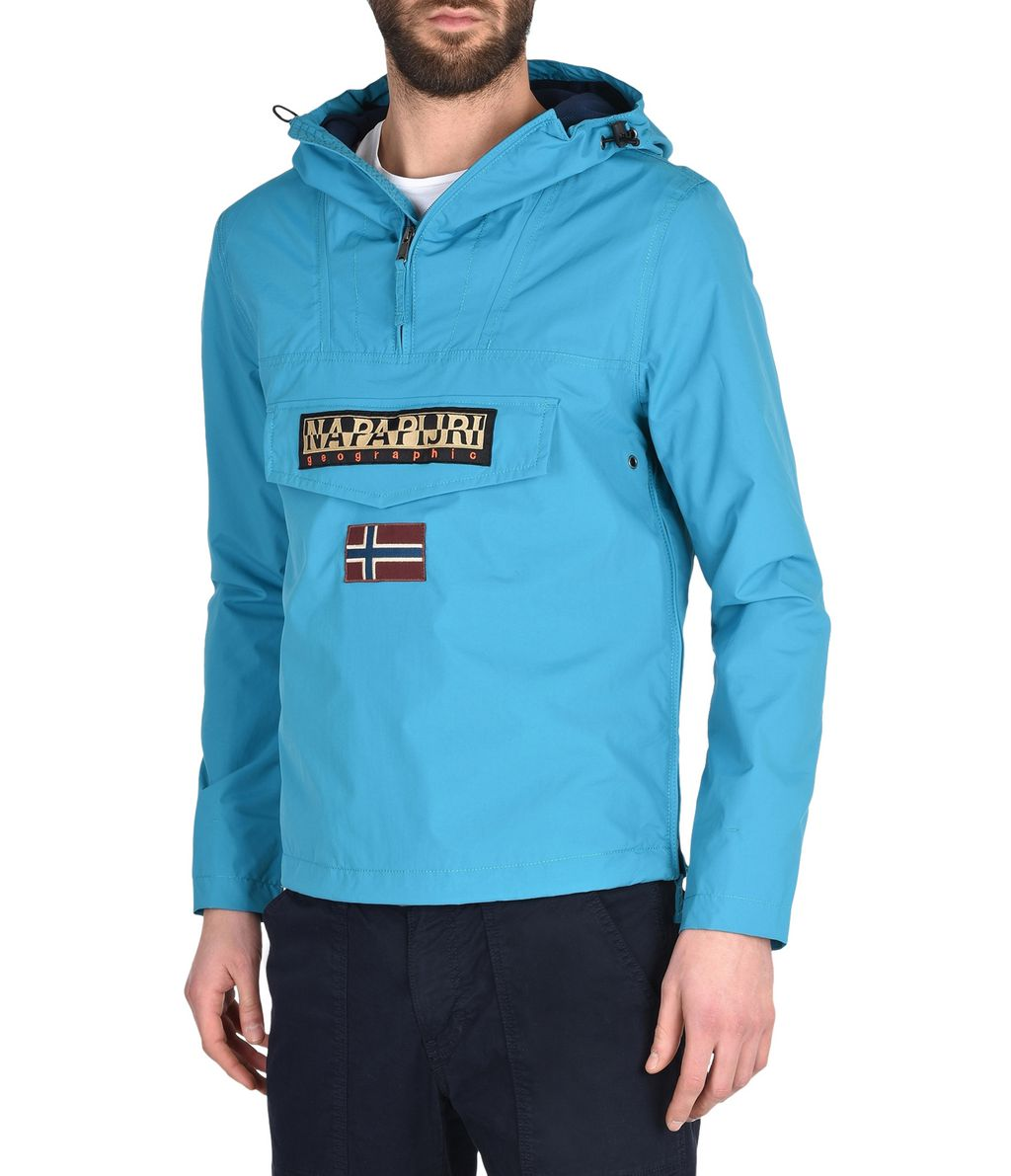 NAPAPIJRI RAINFOREST SLIM SUMMER MAN RAINFOREST,TURQUOISE