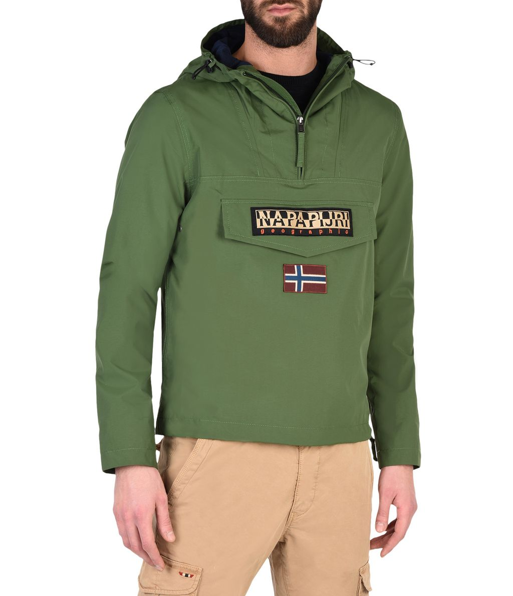 NAPAPIJRI RAINFOREST SLIM SUMMER MAN RAINFOREST,GREEN