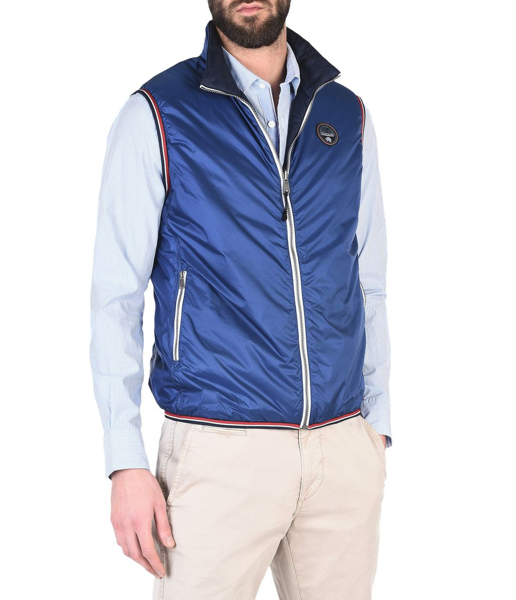 NAPAPIJRI ANNISTON REVERSIBLE MAN VEST,
